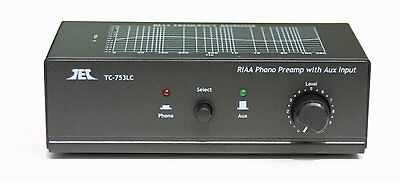 Phono Preamp Pre Amp Amplifier Preamplifier with Aux 2 inputs and Volume Control