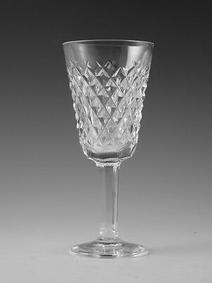 """WATERFORD Crystal - ALANA Cut - Sherry Glass / Glasses - 5 1/8"""""""