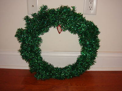 Dept. 56 Dark Green Garland Christmas Wreath NWT
