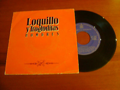 "Loquillo Y Trogloditas Spanish 7"" Hombres + 1"