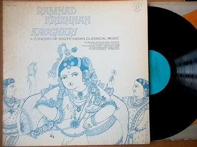 RAMNAD KRISHNAN KACCHERI.South Indian Classical.nonesuch US.LP.Vinyl.vg++