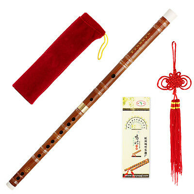 Traditional handmade Chinese Musical Instrument Bamboo Flute/dizi In C Pluggable