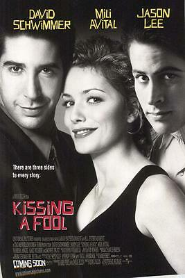 Kissing A Fool Original Advance 1-Sheet Rolled Movie Poster 2-Sided 27X40 1998
