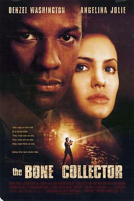 The Bone Collector Original One Sheet Rolled Movie Poster 2-Sided 27X40 1999
