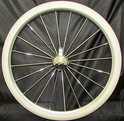 "Silver Cross Kensington Coach Built Pram Wheel + Tyre Size 16"" (350 25) New"