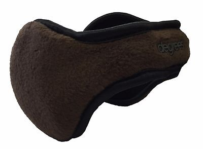 Degrees By 180s Discovery Youth/Women Java Brown Fleece Ear Warmers NEW!