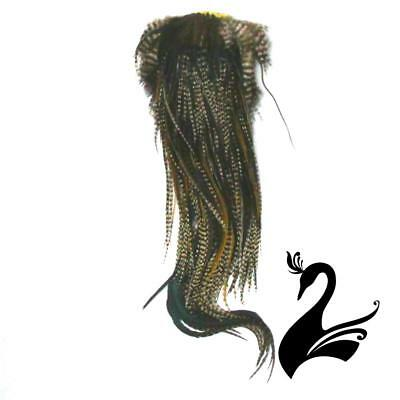 Feather Whiting - Eurohackle - Grizzly Variant - Craft Millinery Fly Fishing