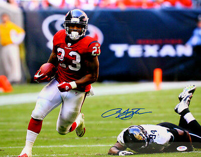 ARIAN FOSTER SIGNED AUTOGRAPHED HOUSTON TEXANS 16x20 PHOTO PSA/DNA #T24402