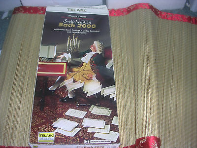 Wendy Carlos - Switched-On Bach 2000 CD longbox NEW