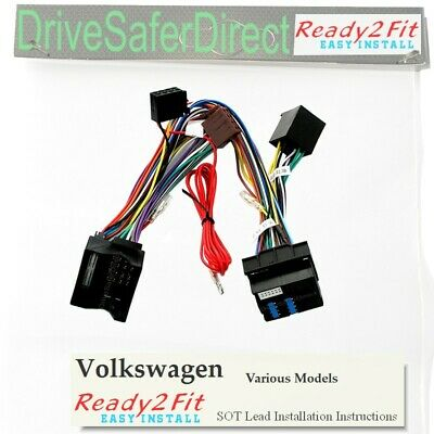 ISO-SOT-8502-t Lead,cable,adaptor for Parrot MKi9100 Volkswagen