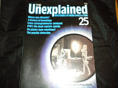 The Unexplained Orbis Issue 25 - Where was Atlantis? - A History of Hauntings