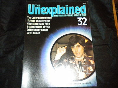 The Unexplained Orbis Issue 32 - The Geller Phenomenon - Science and Astrology