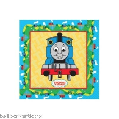 16 Thomas The Tank Engine Birthday Party 33cm Disposable Paper Napkins