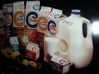 Large Full Color Crowley Milk Photo Advertising By Local Photographer Ed Aswad