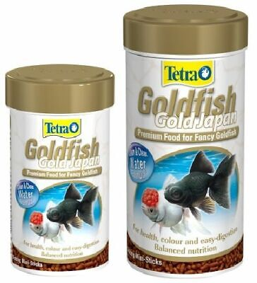 Tetra Goldfish Gold Japan Fancy Fish Tank Aquarium Food Mini Sinking Sticks