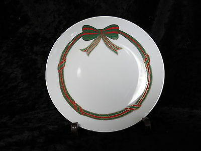 LEFTON RIBBONIA DESSERT/SALAD PLATE #306445 DATED 198 GOOD CONDITION