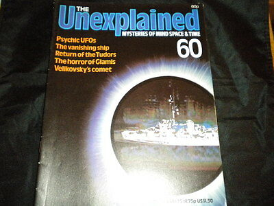 The Unexplained Orbis Issue 60 - Psychic UFOs - The Vanishing Ship