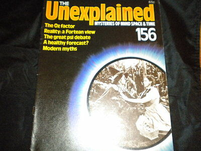 The Unexplained Orbis Issue 156 - The Oz Factor - Reality: A Fortean View