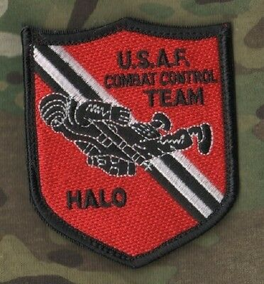 AFSOC COMBAT CONTROL CCT HALO VELCRO SSI Shoulder Sleeve Insignia: Death on Call