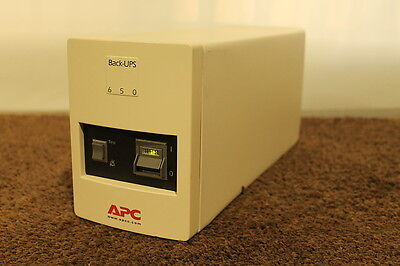 APC BK650mi UPS - 410 watt - new batteries installed - 12 Month RTB warranty