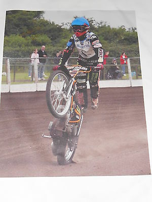 Tai Woffinden Hand Signed Canvas 688mm x 545mm Very Rare Large.