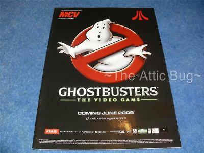 MCV Magazine ~ Dec 12, 2008 ~ Ghostbusters cover ~ Trade only magazine