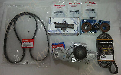 Genuine/oem Honda/acura V6 Complete Timing Belt & Water Pump Kit Factory Parts