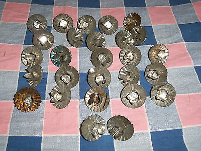 Antique Christmas Tree 27 Candle Holders  Stick Into Branch  As Found Condition