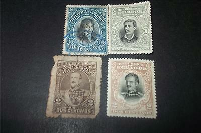 Small Lot Of Old Ecuador Stamps - Stamp Collection