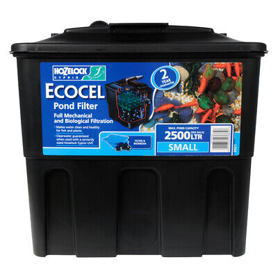Hozelock Ecocel 2500 Pond Filter (Replaces The 2200) Garden Fish Koi Filtration