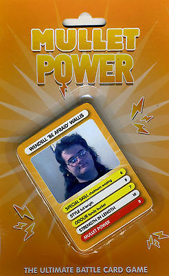 Mullet Power ~ Card/Trumps Game