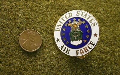 """5661) United States Air Force Large 1 ½"""" Insignia USAF Pin Medal Badge"""