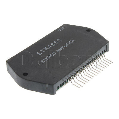 STK4863 Generic Integrated Circuit Stereo Power Amplifier