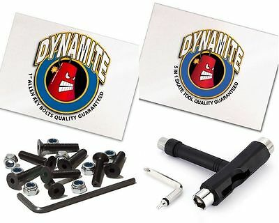 Dynamite Forever Bolts & Skate Tool Combo FREE POST 30 DAY RETURNS NEW Hardware