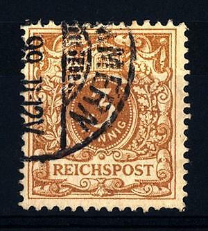 GERMANY - GERMANIA REICH IMPERO - 1889/1900 - Cifra in ovale