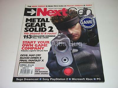NextGen~Lifecycle 2 Vol.3 #3~USA / American Magazine~Metal Gear Solid 2 Cover