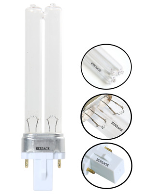 Pls 5W 7W 9W 11W 13W Pls Lamp Spare Pond Filter Uv Uvc Bulb Tube Light Watt