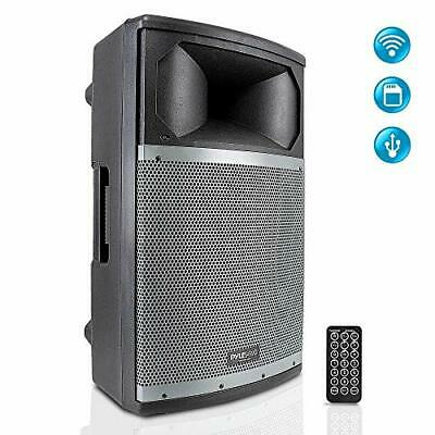 Pyle 600W Bluetooth Boom Box Wireless & Portable Stereo LED Speaker