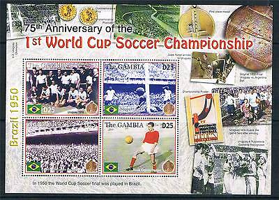 Gambia 2005 Anniv.of 1st World Cup SG 4820a MNH