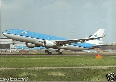 Airline Postcard - KLM - A330 203 - PH-AOB (P2697)