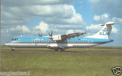 Airline Postcard - KLM UK - ATR 42 - G-UKTN (P2700)