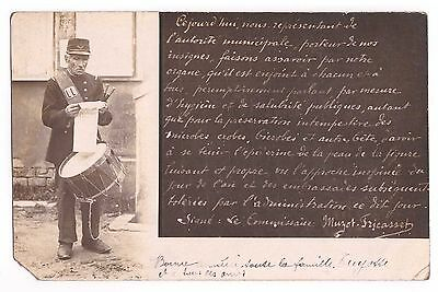 Cpa Garde Champetre - Commissaire - Carte Photo