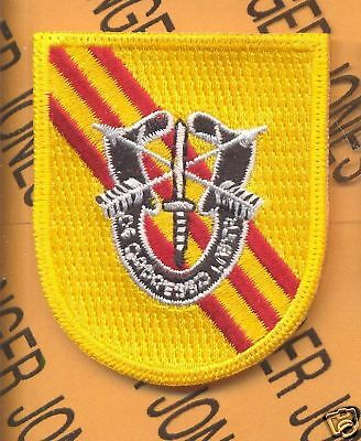 5th Special Forces Airborne Provisional DUI flash patch