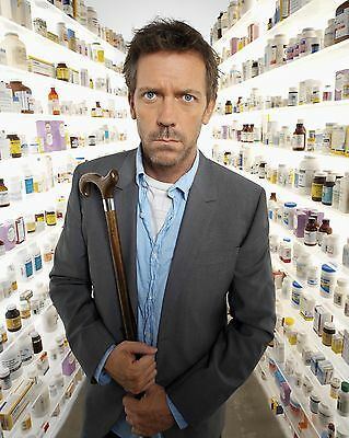 Hugh Laurie / HOUSE  8 x 10 GLOSSY Photo Picture
