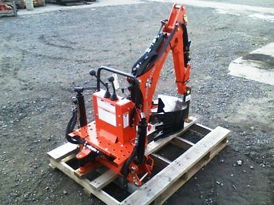 """NEW Woods BH6000 Backhoe Attachment w/ 12"""" or Smaller Bucket Included!"""