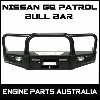 Nissan 4X4 4Wd Gq 88 - 97 Patrol Y60 Or Ford Maverick Winch Bull Bar