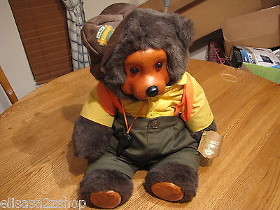 Robert Raikes Camp Grizzly Wendell bear 661430 1990 backpack camping RARE 22 in