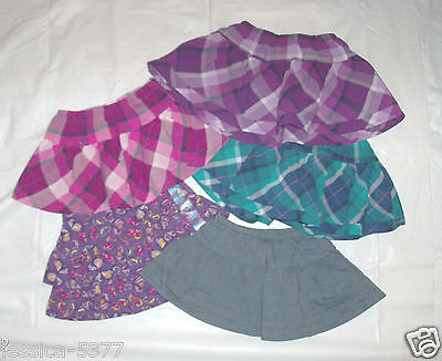 Infant Toddler Girls Childrens Place Skorts Skirts Various Patterns & Sizes NWT