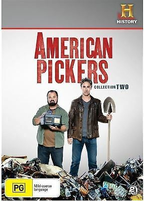 American Pickers Collection 2 DVD R4-NEW(In Stock Now Post From Sydney)