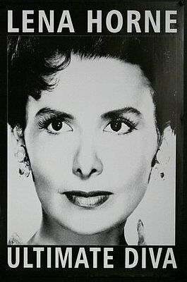 Lena Horne Ultimate Diva - Original Music Poster - Free Shipping!